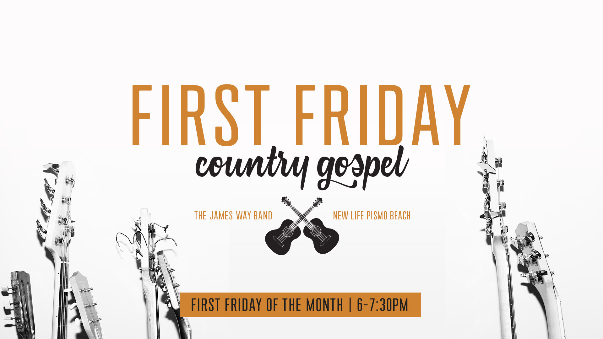 First Friday Country Gospel Concert