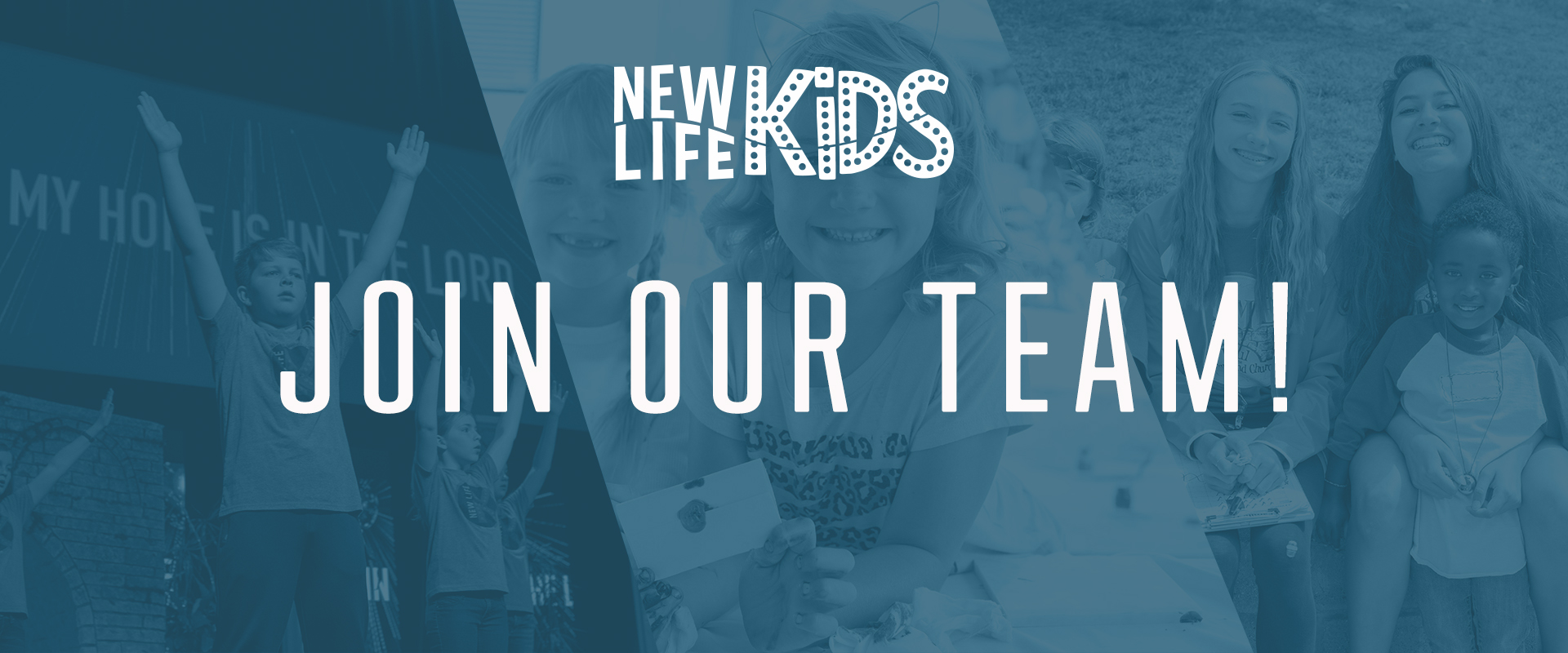 New Life Kids Web Banner Join Team