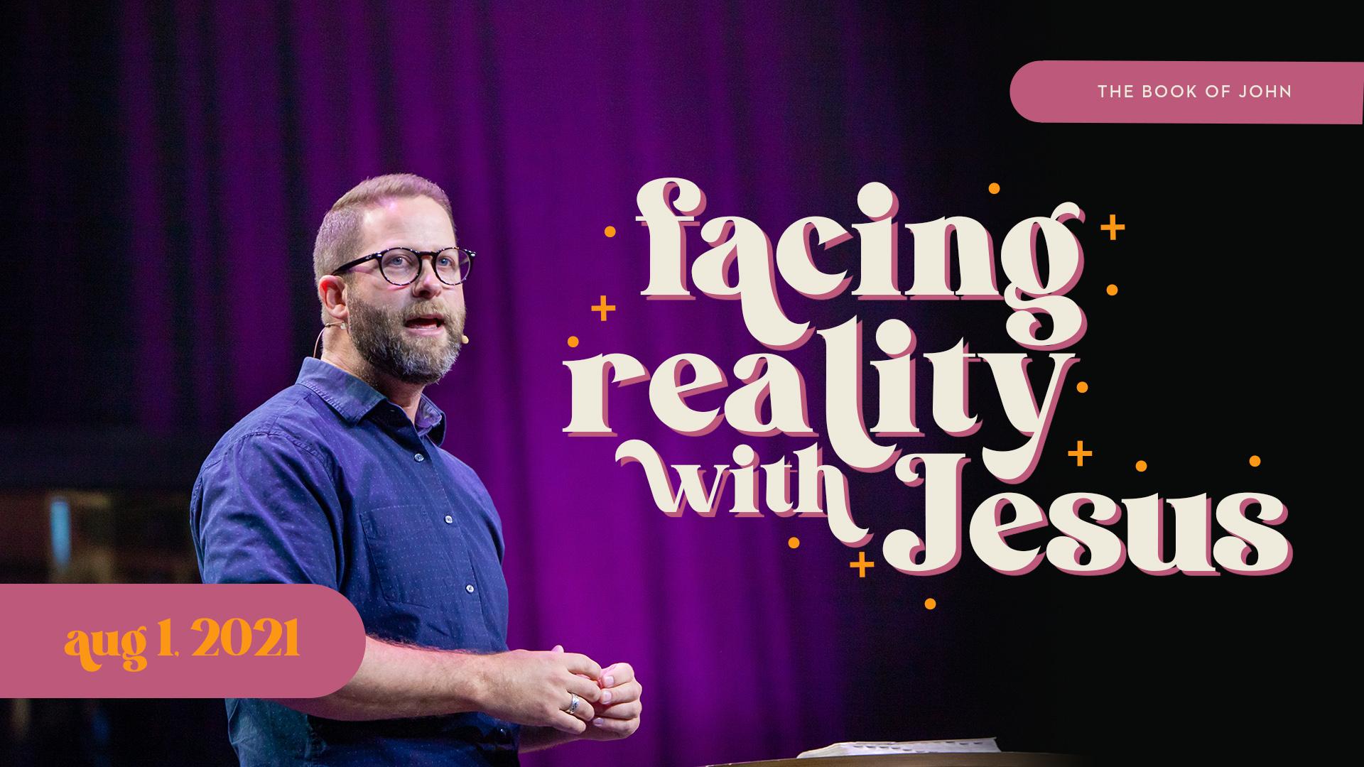 Facing Reality with Jesus Image